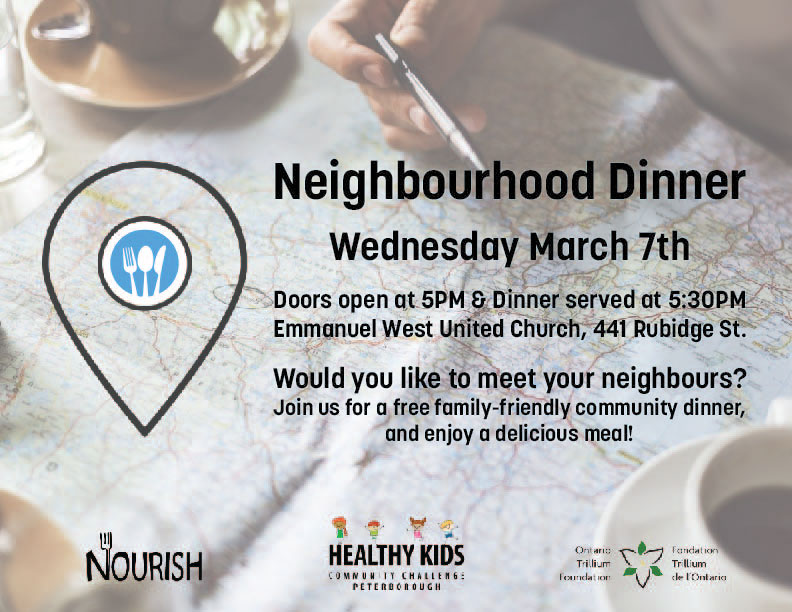 Neighbourhood Dinner Poster
