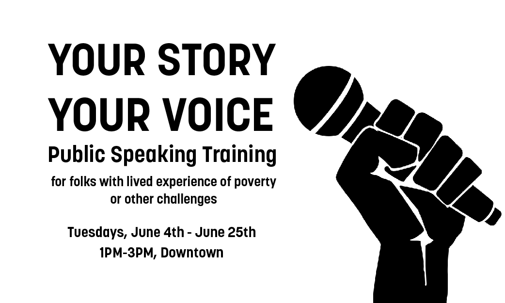 Your Story Your Voice Public Speaking Training