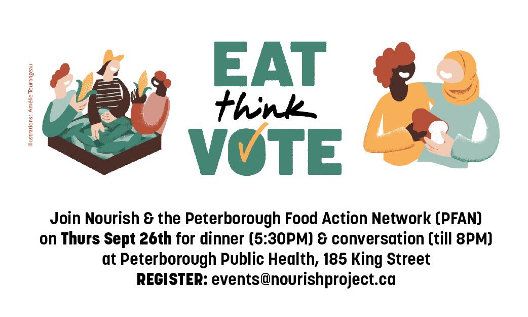 Eat Think Vote: Thursday September 26th