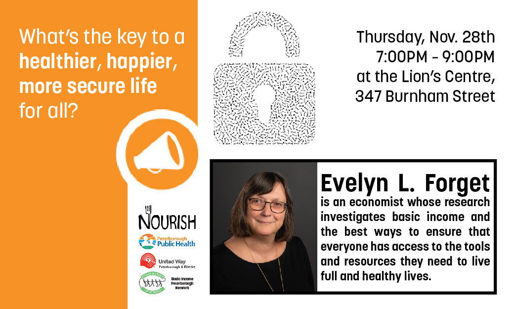 Evelyn Forget Talk: November 28th