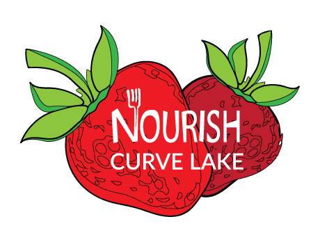 Nourish Curve Lake Logo.