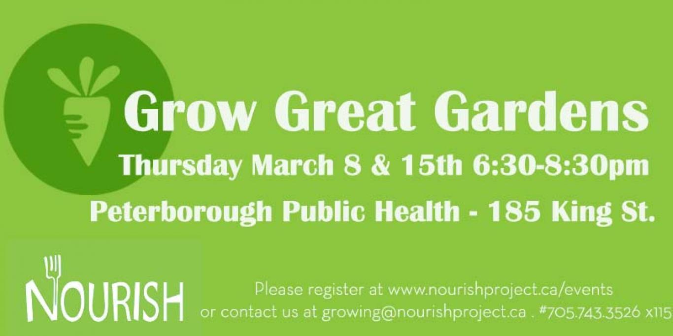 Growing Great Gardens