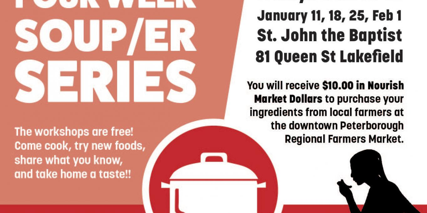 Lakefield SOUPer Series Poster