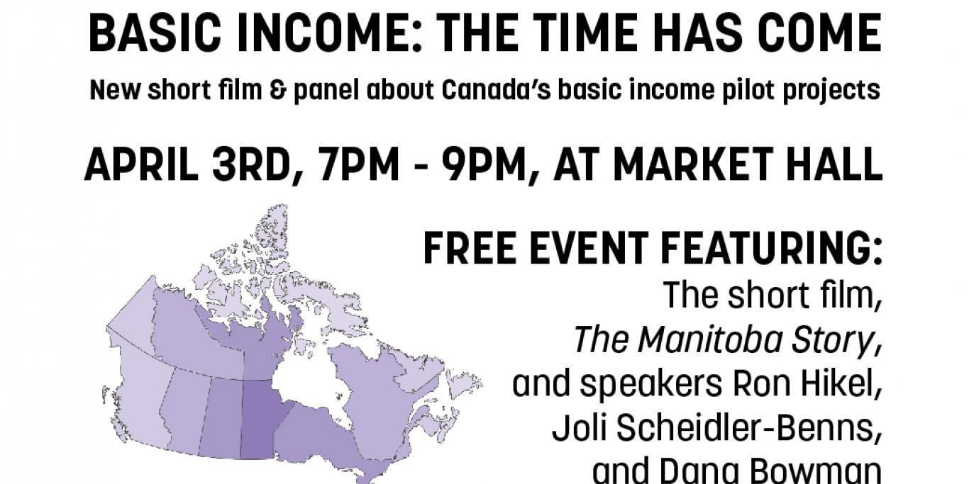 Basic Income: The Time Has Come