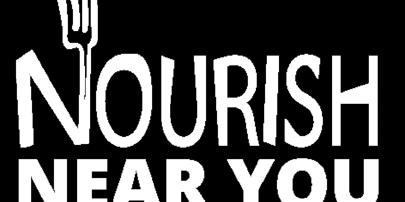 Nourish Logo with text 'Near You'