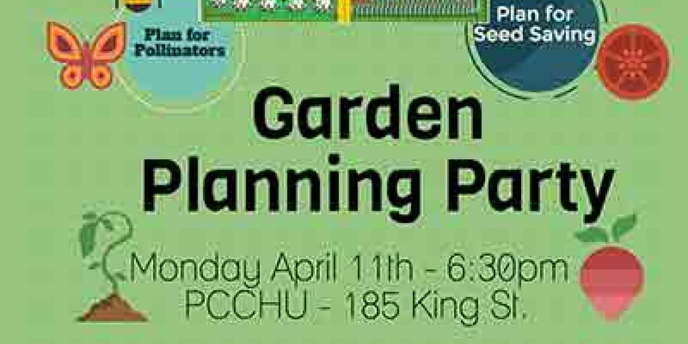 Garden Planning Poster