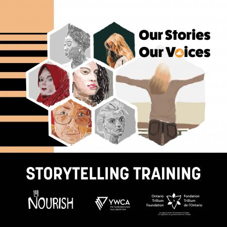 Our Stories Our Voices Storytelling Training