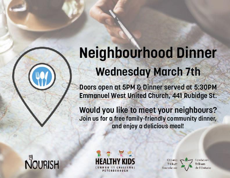 Neighbourhood Dinner Poster