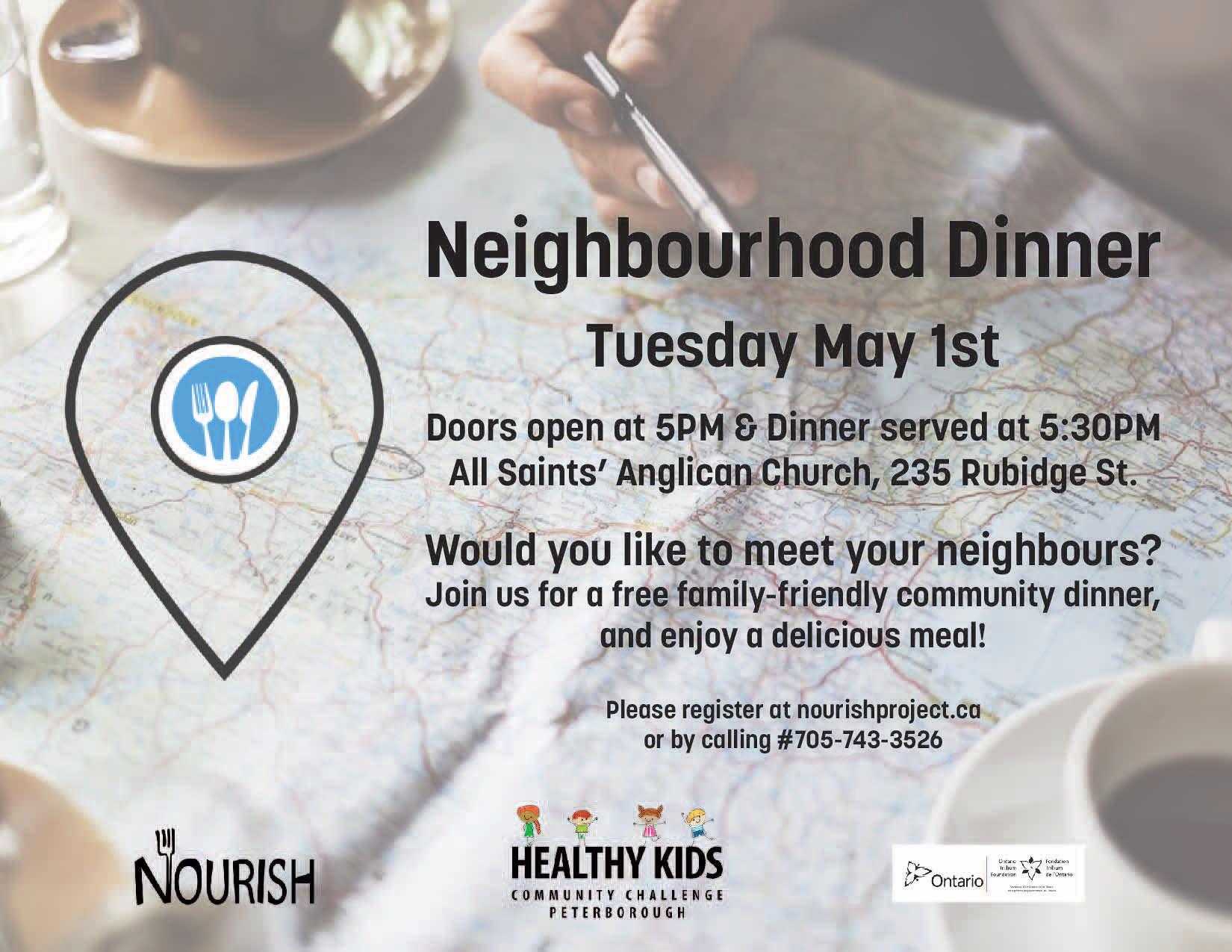 All Saints' Neighbourhood Dinner