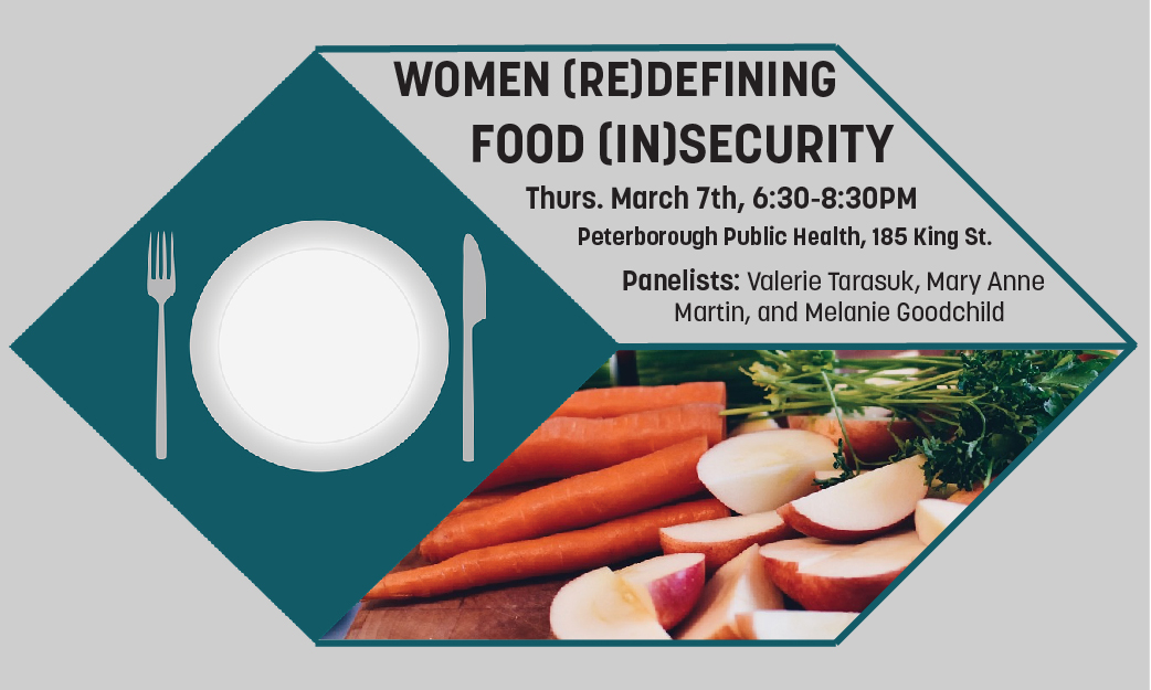Women (Re)Defining Food (In)Security Poster