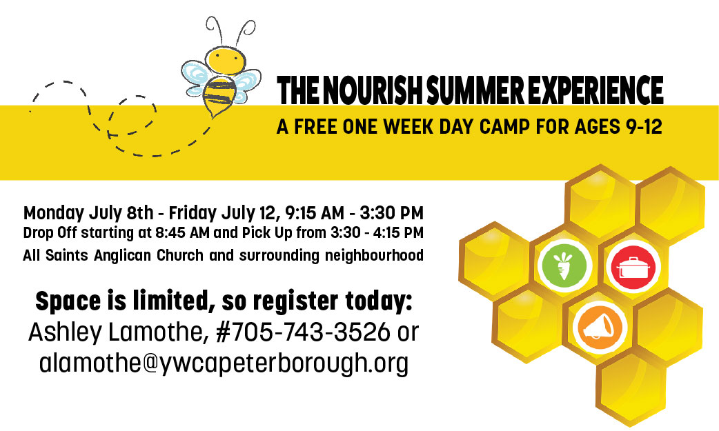 Nourish Summer Experience: Day Camp for kids ages 9 to 12