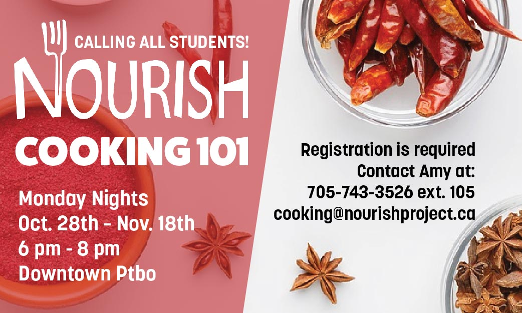 Cooking 101 - Calling All Students!