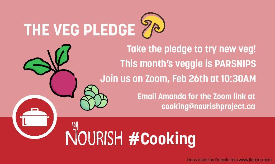The Veg Pledge: Parsnips