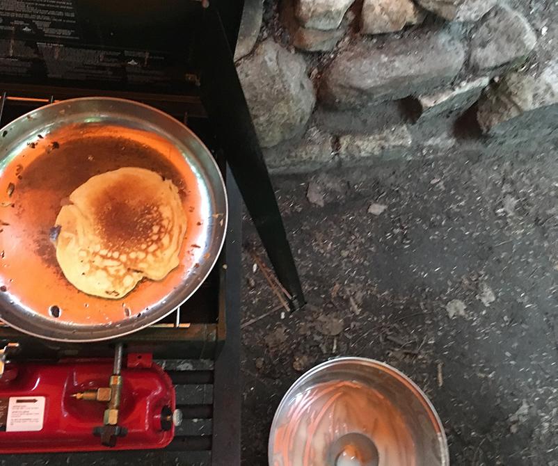 Campsite Pancakes