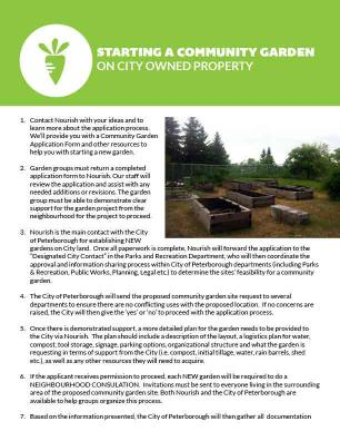 how to start a community garden on city owned property - How To Start A Community Garden