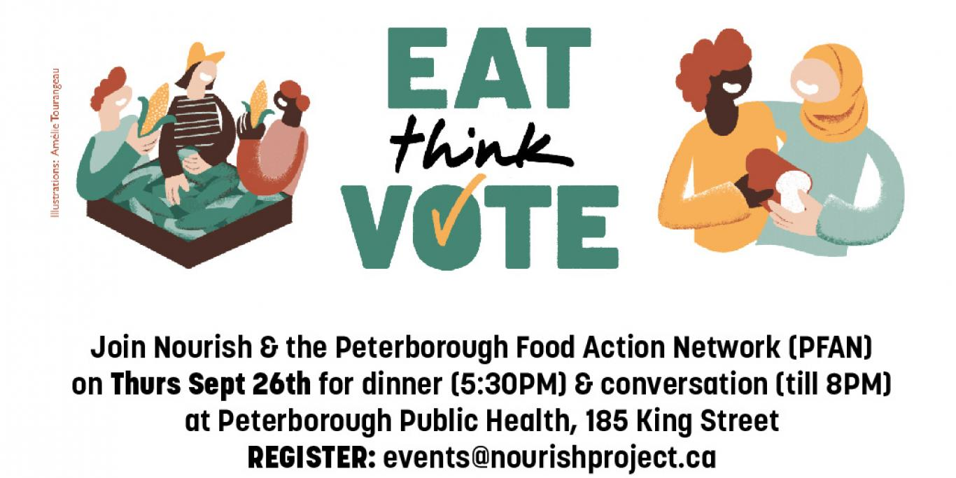 Eat Think Vote: Thursday September 26th