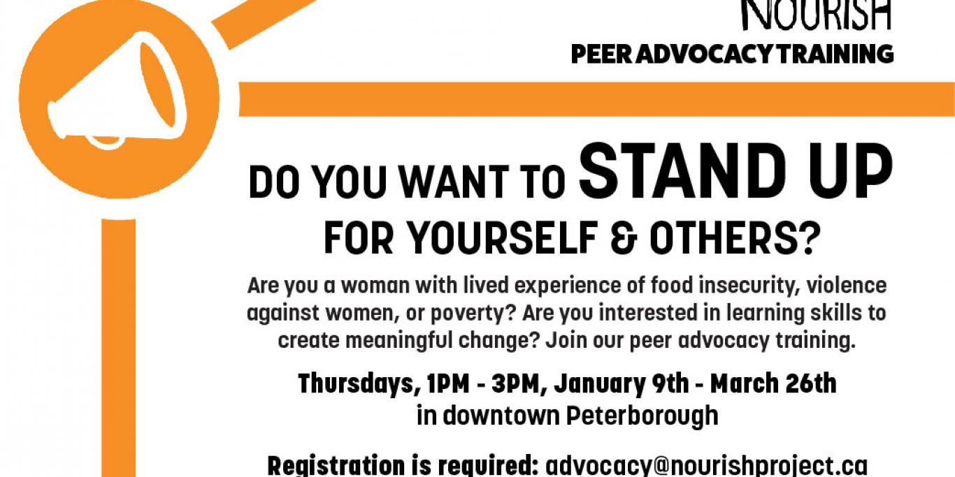 Peer Advocacy Training 2020