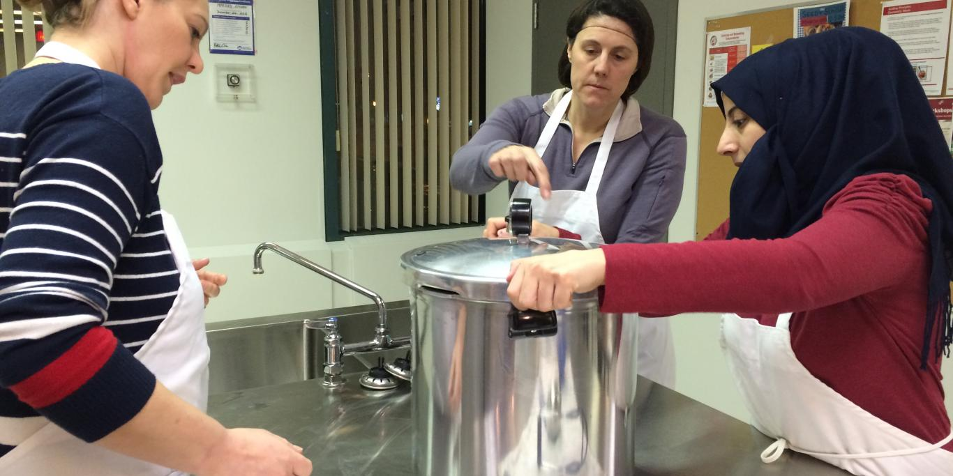 Using Pressure Canner