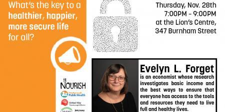 Evelyn Forget Talk: November 28th