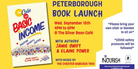 Peterborough Book Launch: The Case for Basic Income